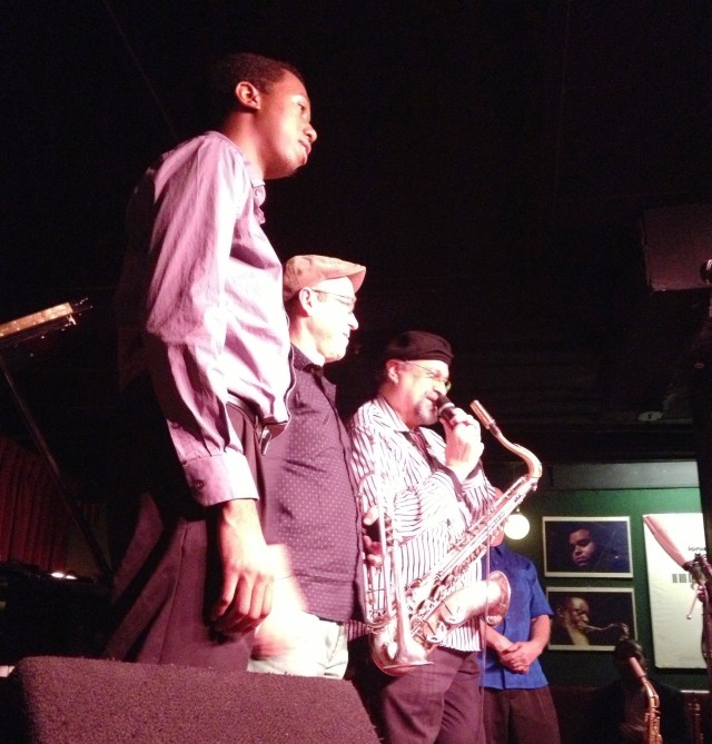 "Joe Lovano and Dave Douglas ""Soundprints"" at the Village Vanguard"
