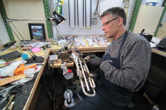Working on Hankins' Horns