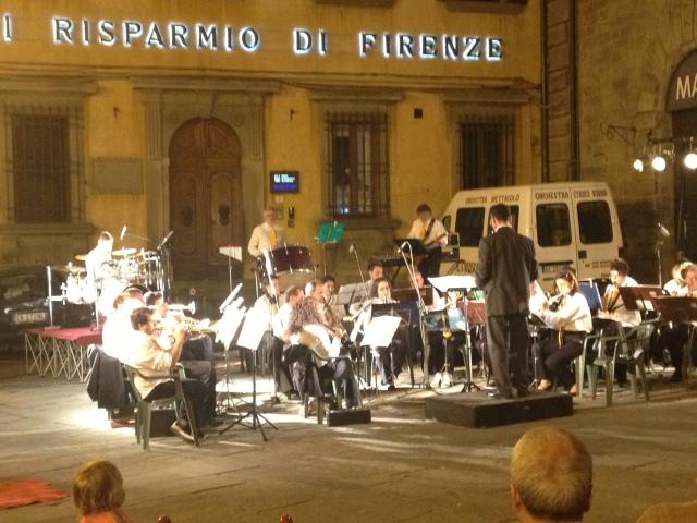 Jazz Orchestra Band in Cortona