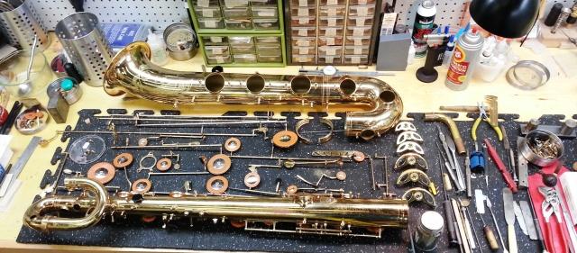 Deconstructed Baritone Sax
