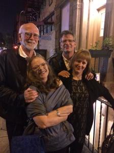 Bob and Carol Evans, Randy and Yo