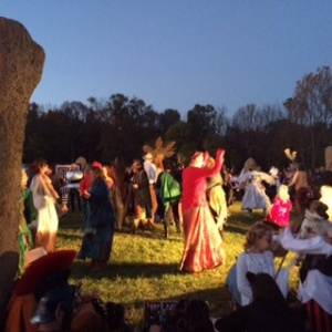 Theatrical Performance in the Circle of Stones