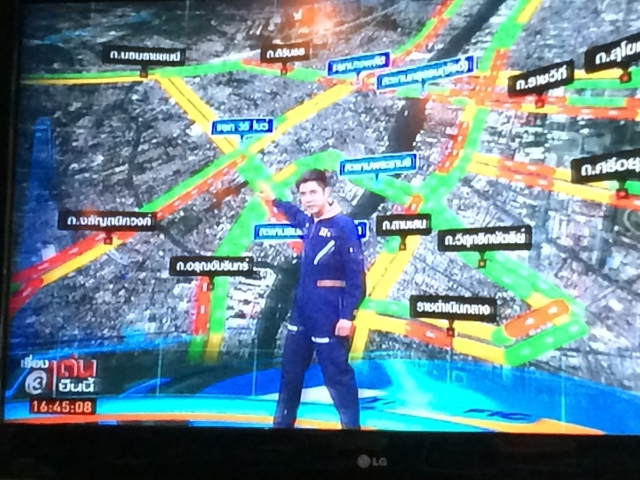 TV Traffic Man
