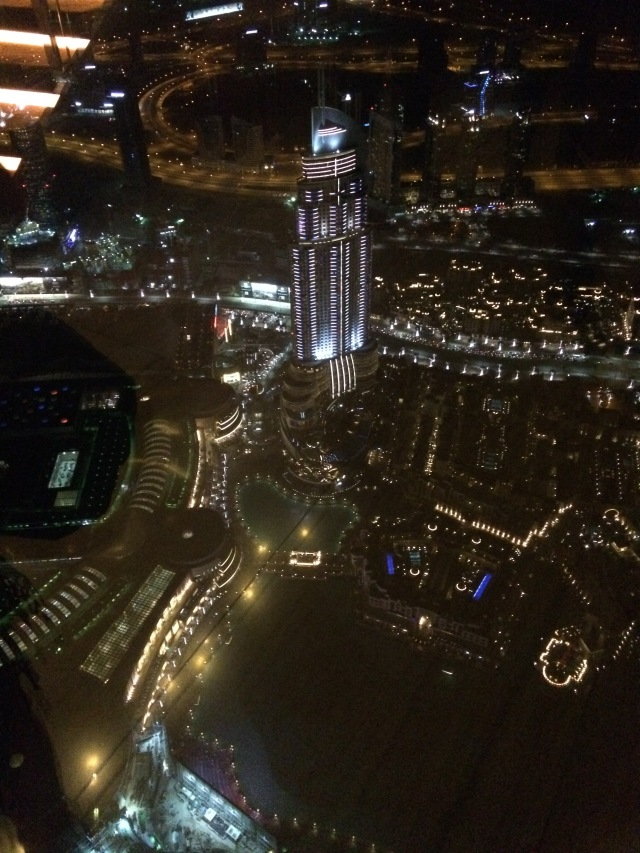 View from AtMosphere at Burj Khalifa