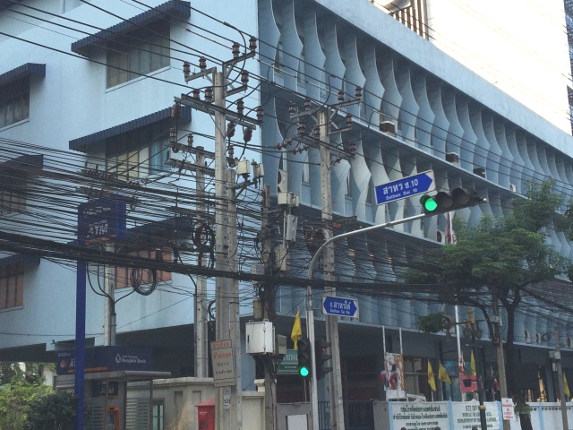 Wired in Bangkok