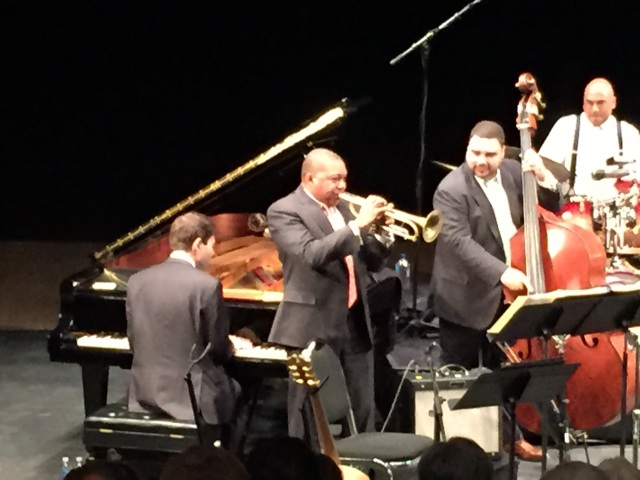 Wynton doing his Magic