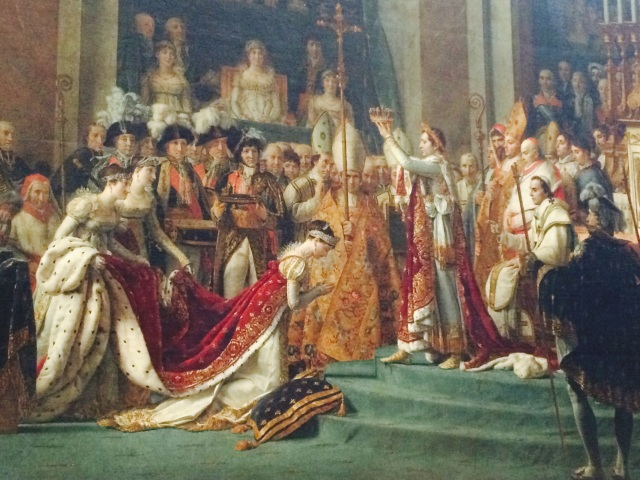 The coronation of Josephine
