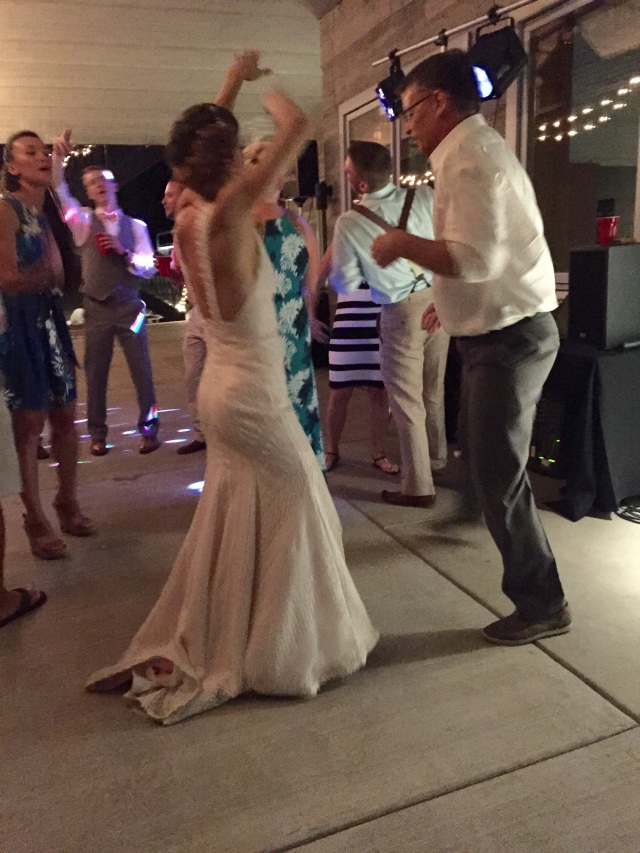 Cutting the rug with Ashley