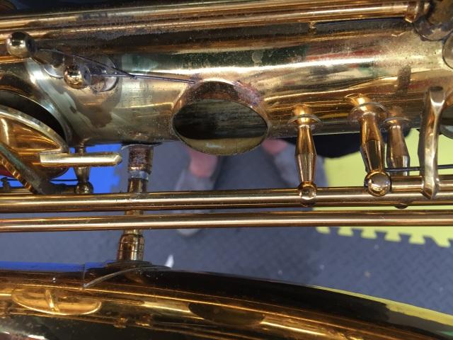 Leveling the G# Tone Hole