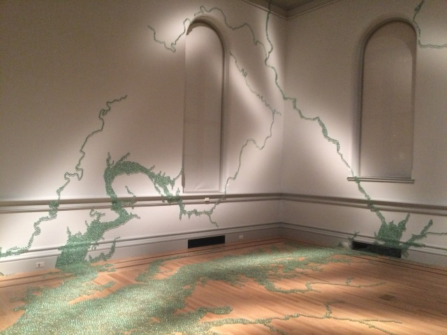 Folding the Chesapeake by Maya Lin