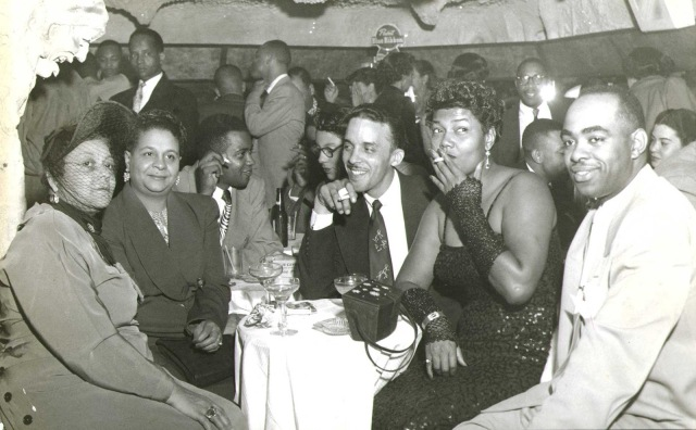 Pearl Bailey at Bohemian Caverns (Club Crystal). Photo from The House HIstory of Man by Paul K Williams