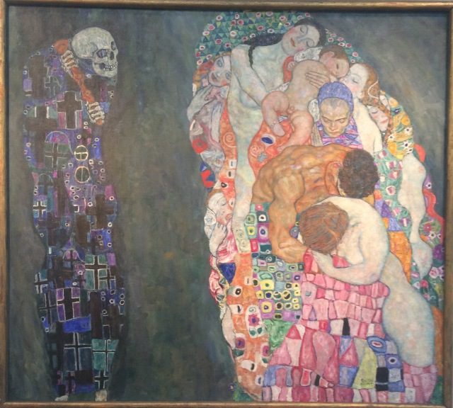 Death and Life by Gustav Klimt, 1910