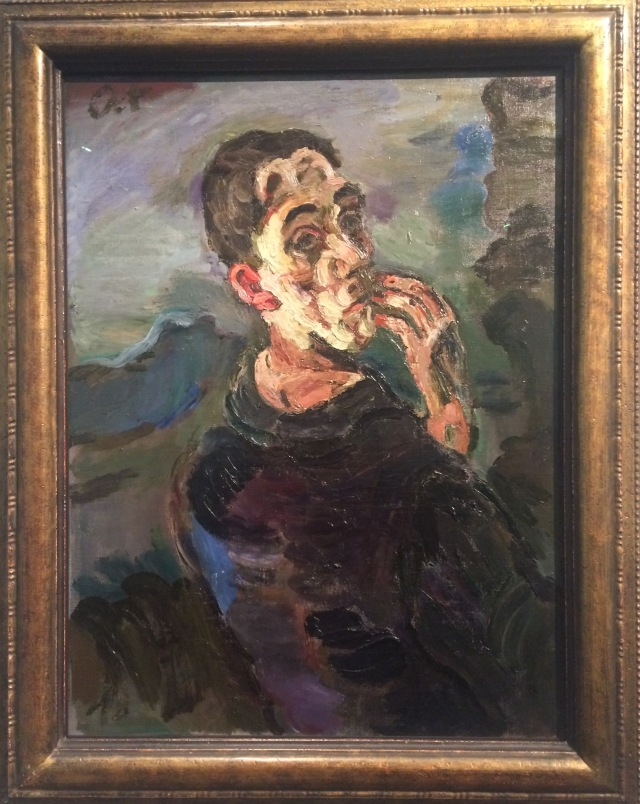 Self Portrait by Oskar Kokoschka, 1919