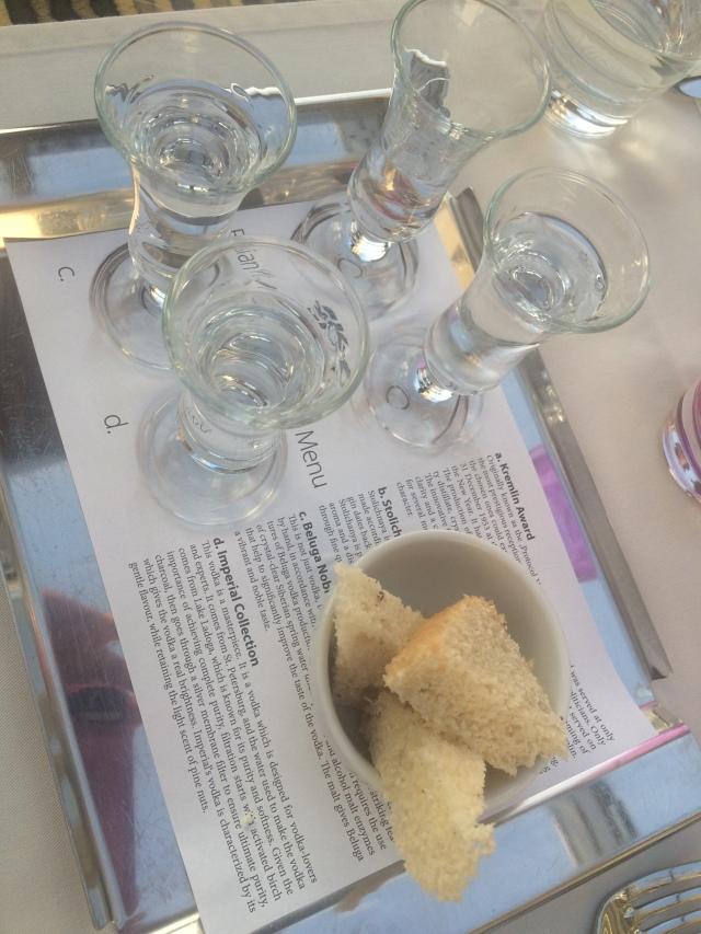 Vodka Tasting at the Lemon Tree Sky Bar