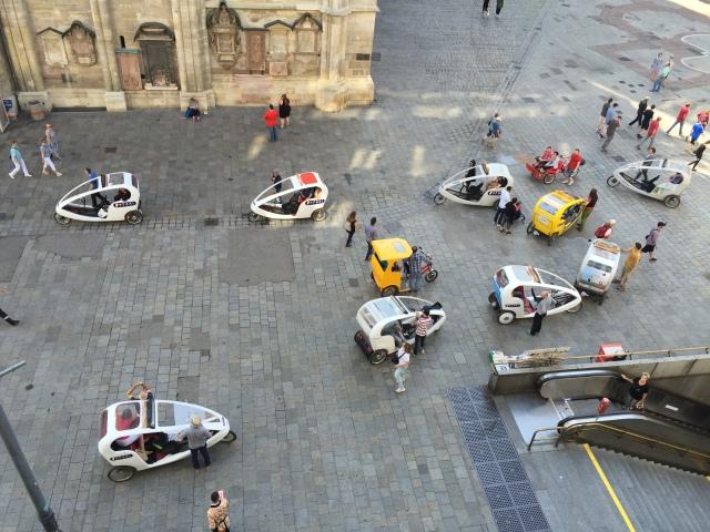 Taxi scramble