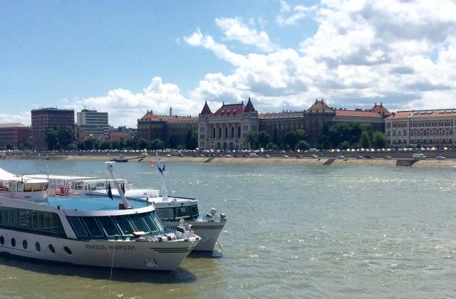 Buda with boats