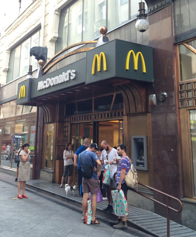 The first COmmunist MacDonalds
