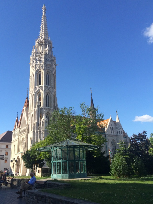 Matthius Church in Buda