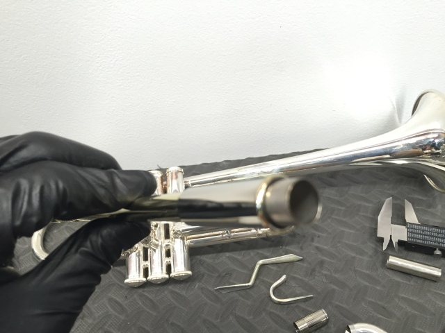 Reverse Leadpipe with Outter Tube